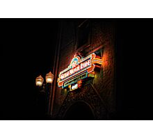 The Great Movie Ride at Disney Florida Photographic Print