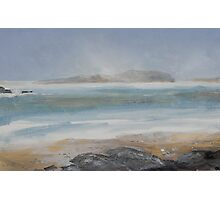 Storm over Little Cumbrae Photographic Print