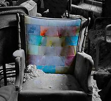 """Layered Chair""  by MJD Photography  Portraits and Abandoned Ruins"