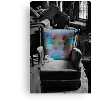 """Layered Chair""  Canvas Print"