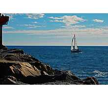 Sail View Photographic Print