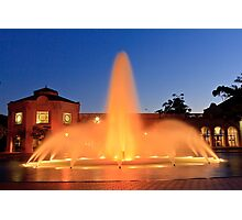 Fountain in Balboa Park Photographic Print