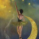 Reaching for the Stars * Ballerina * Fantasy * Wall Art by AnaCBStudio