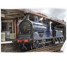 Caledonian Railway 0-6-0 No.828 at Aviemore Poster