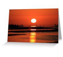 Sanibel Island sunrise Greeting Card