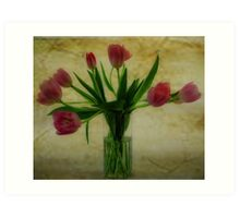 Vase of Tulips Art Print