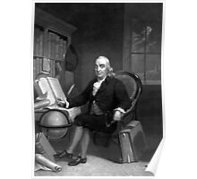 Benjamin Franklin -- The Scientist Poster