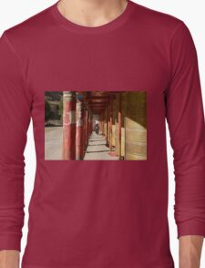 Prayer wheels Long Sleeve T-Shirt