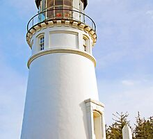 Umpqua Lighthouse by Jennifer Hulbert-Hortman