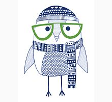 The cross eyed hipster owl Unisex T-Shirt