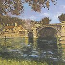 Sisley's Bridge over the Seine by Rodica Voicu