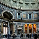 The Pantheon of Rome by Xandru