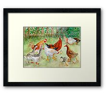 """The Ugly Ducking "" Framed Print"