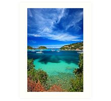 This is the Ionian, not the Caribbean! Art Print