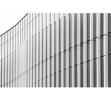 Architecture Detail Black and White Photographic Print