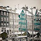 Nyhavn - Copenhagen by Tracey Hill