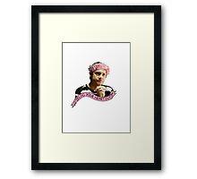 John Watson - Blog your heart out Framed Print