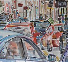 City Streets by Juliane Porter