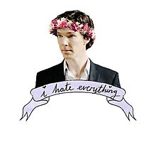 Sherlock Holmes - I hate everything by Victoria H