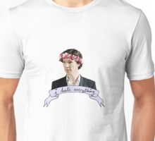 Sherlock Holmes - I hate everything Unisex T-Shirt
