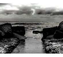 Angry Erie - Part One Photographic Print