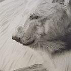 Polar Bear - Bronx Zoo by P. Leslie Aldridge