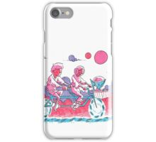 Luke & Leia Tandem Bike iPhone Case/Skin