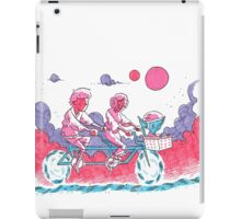 Luke & Leia Tandem Bike iPad Case/Skin