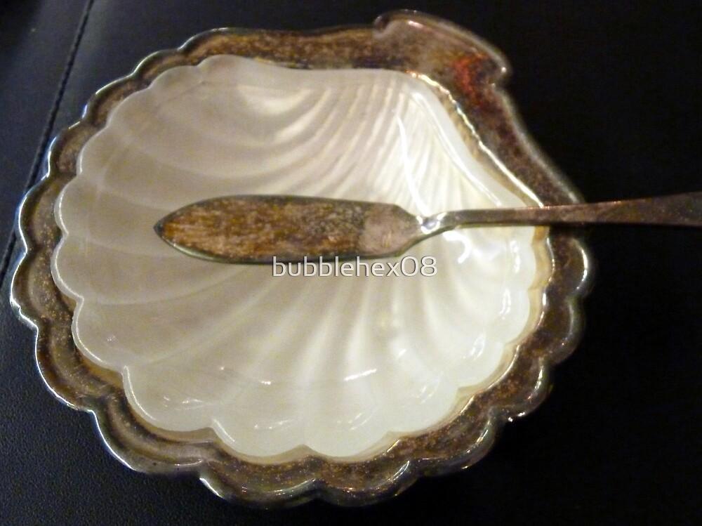 Antique butterdish by bubblehex08