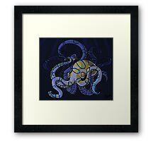 Classy Octopus Framed Print