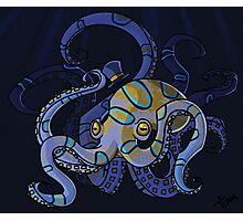 Classy Octopus Photographic Print