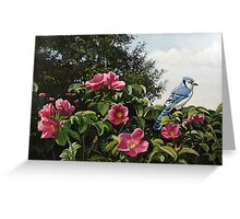 """Summer Blossoms"" Greeting Card"