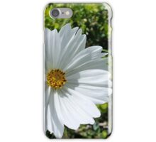 shining white flower iPhone Case/Skin