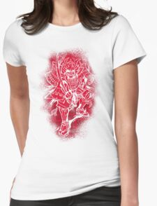 Red Warrior Womens Fitted T-Shirt