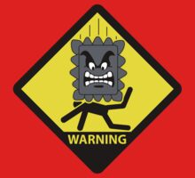 Crushing Hazard sign Kids Clothes
