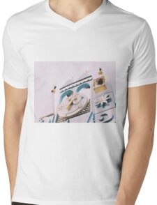 Small World  Mens V-Neck T-Shirt
