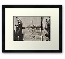 The Urban/Rural Conflict Framed Print