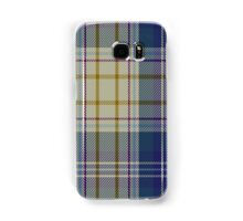 00500 Portree Blue Dance Tartan  Samsung Galaxy Case/Skin