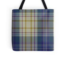 00500 Portree Blue Dance Tartan  Tote Bag