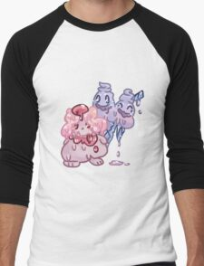 Sweets Pokemon - Slurpuff and Vanilluxe Men's Baseball ¾ T-Shirt