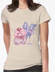 Sweets Pokemon - Slurpuff and Vanilluxe Womens Fitted T-Shirt