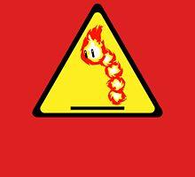 Fire Snake Hazard Unisex T-Shirt