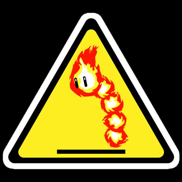 Fire Snake Hazard by D4N13L