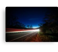 I Drove All Night Canvas Print