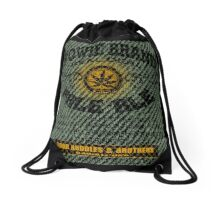 mellow fellow Drawstring Bag