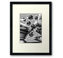 Orbital Journey Framed Print