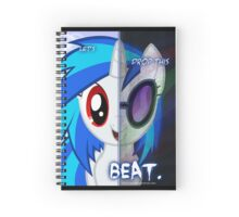 Lets Drop This Beat Spiral Notebook