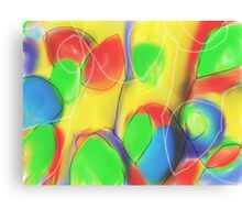 Shapes and Broken Lines Canvas Print
