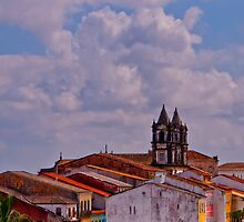 Across the Rooftops - Pelourinho by lgphoto