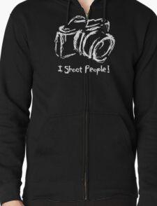 Photographer Zipped Hoodie